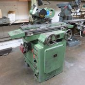 Jotes Model NVA-25 Tool and Cutter Grinder. Rise and Fall and Tilt and Swivel Head.