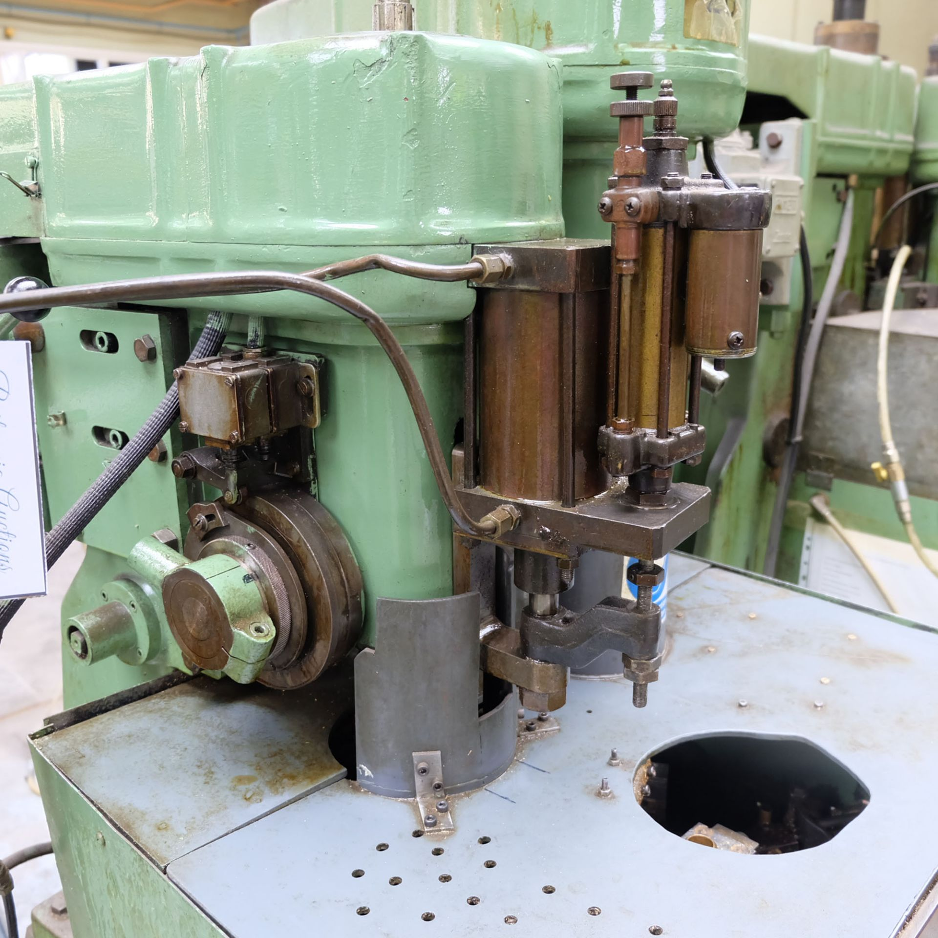 Sturino Model ST-66 Two Spindle Automatic Rotary Transfer Machine. Spindle Taper 30 Int. - Image 2 of 8