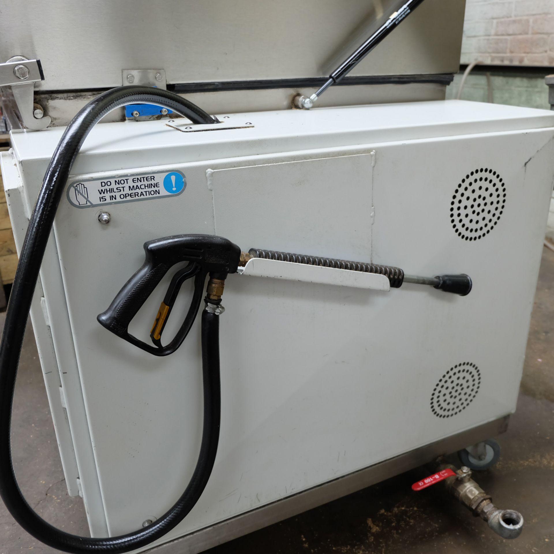Vixen Jetwash Model JW60 Automatic Hot Wash Rotary Spray Machine. Bowl Size 600mm x 260mm. - Image 4 of 8