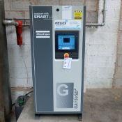 Atlas Copco Model GA 15 VSD + Variable Speed Oil Injected Screw Compressor. 15 kW Motor