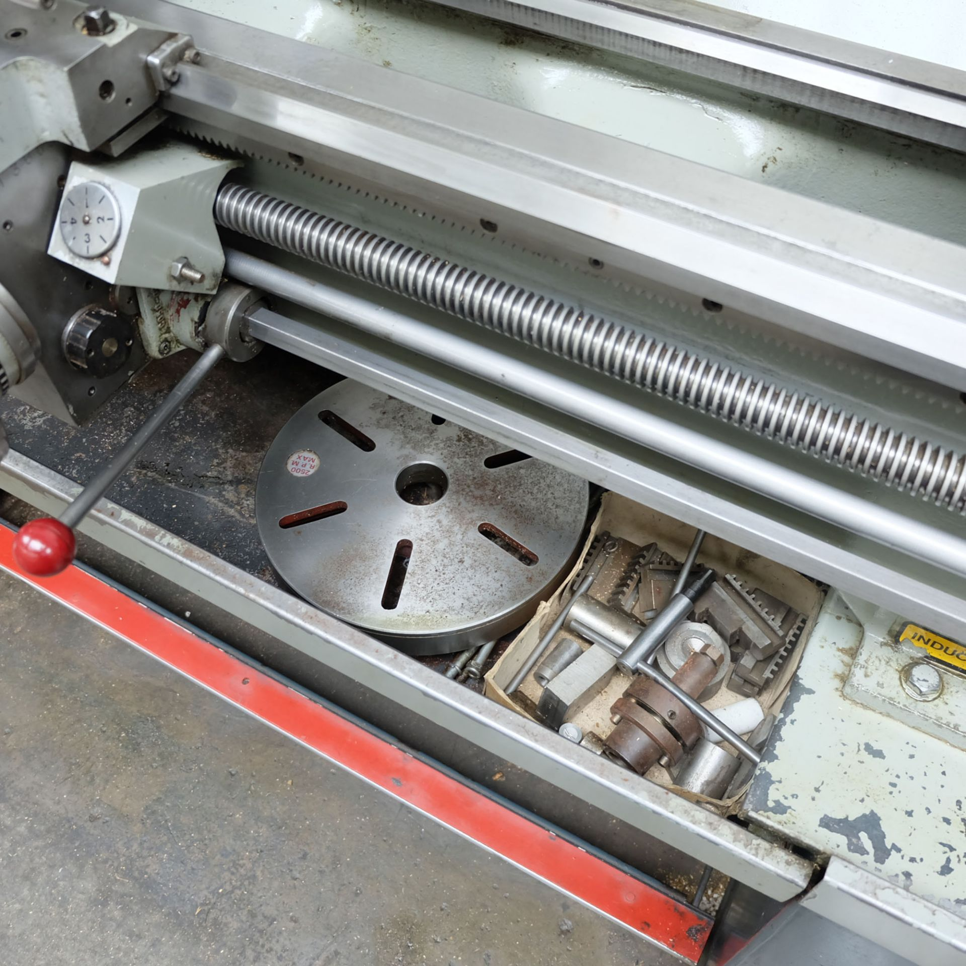 Colchester Master 2500 Gap Bed Centre Lathe. - Image 9 of 10