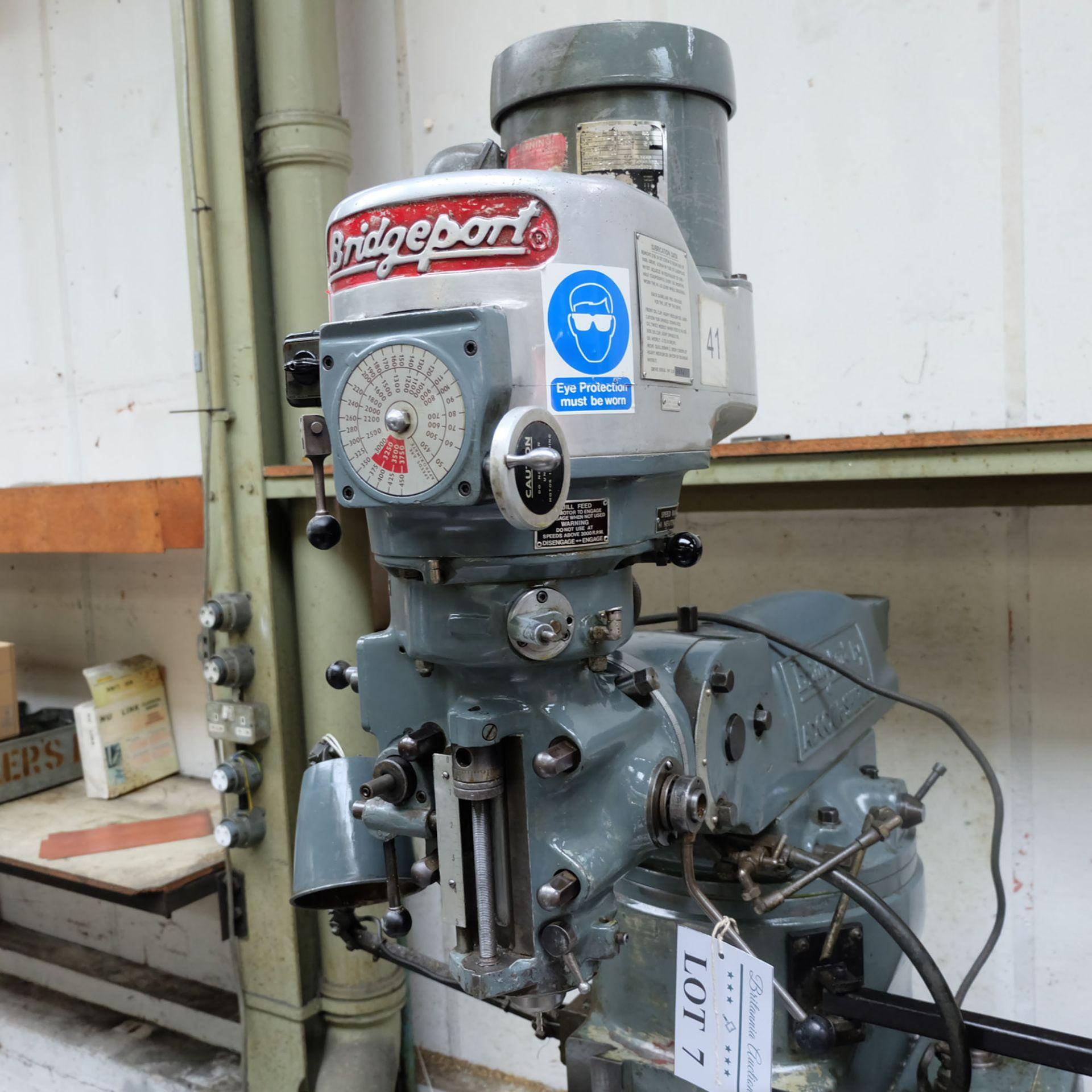 Bridgeport BR2J Variable Speed Head Turret Milling Machine. - Image 2 of 7