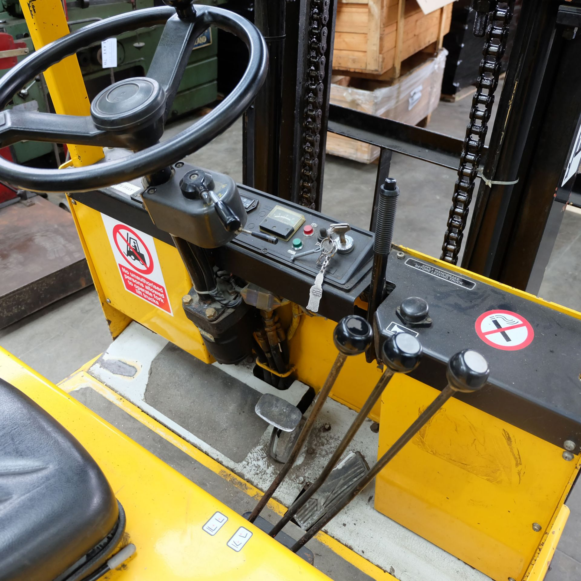 Kalmar Model EF 1.75. Electric Fork Lift Truck With Battery Charger - Image 4 of 10