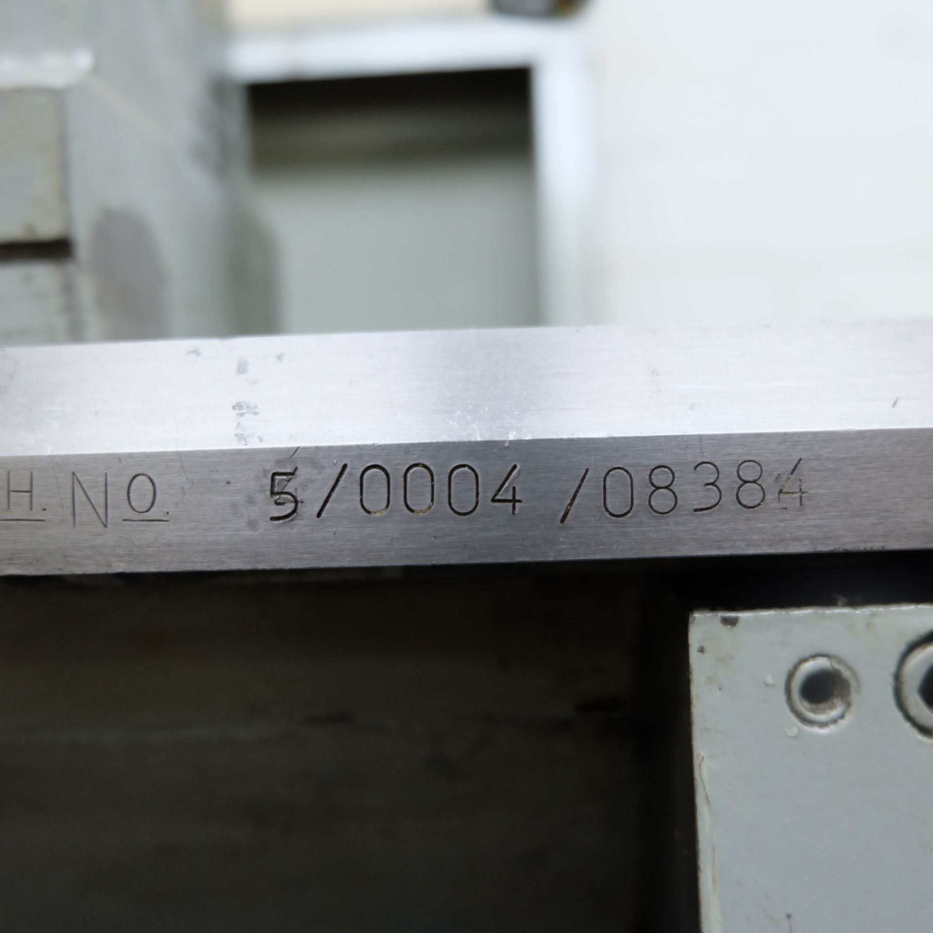 Colchester Master 2500 Gap Bed Centre Lathe. - Image 10 of 10