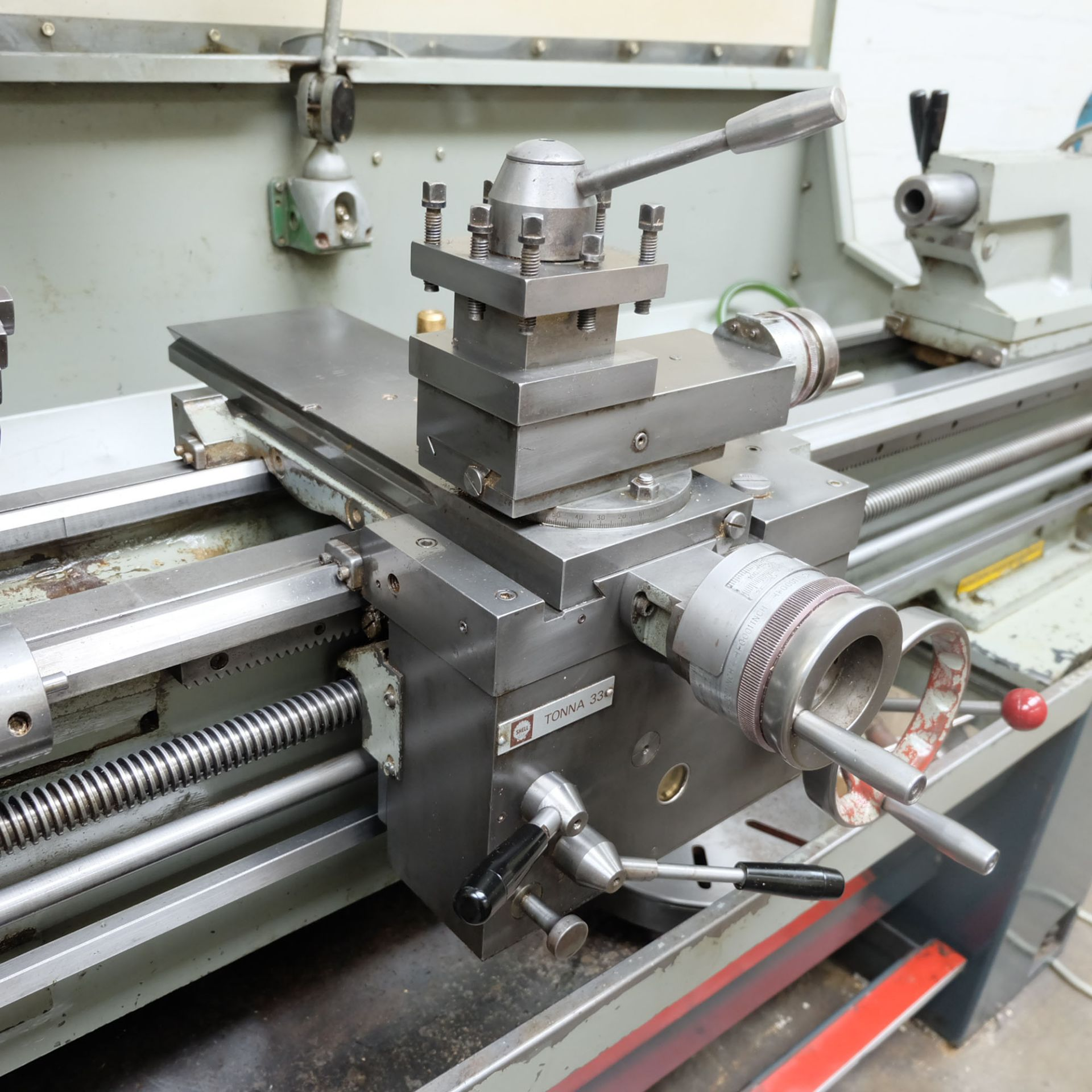 Colchester Master 2500 Gap Bed Centre Lathe. - Image 6 of 10