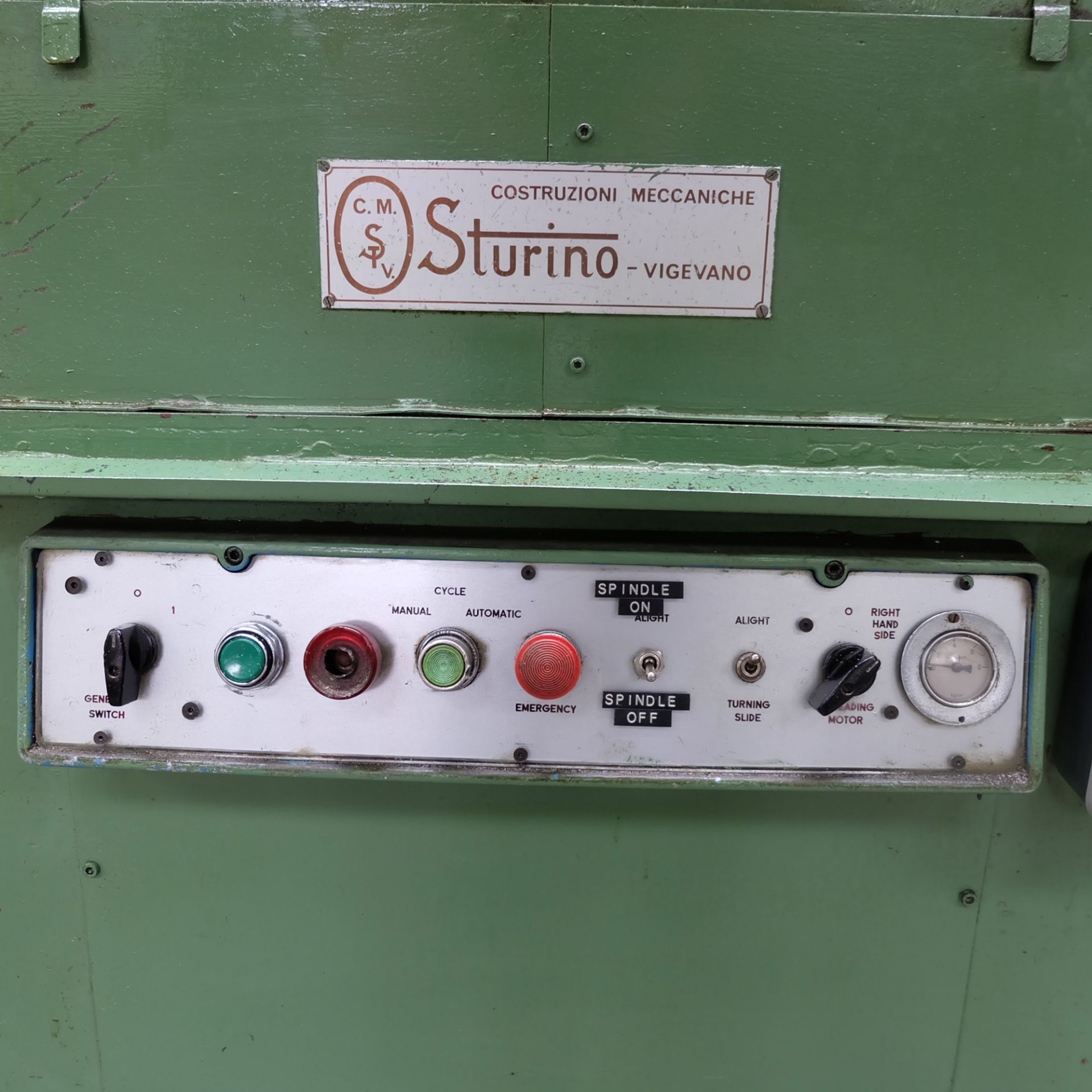 Sturino Model ST-66 Two Spindle Automatic Rotary Transfer Machine. Spindle Taper 30 Int. - Image 6 of 8