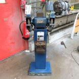 Grimston Type DE 200. Double Ended Pedestal Grinder. Grinding Wheel Size 200mm.