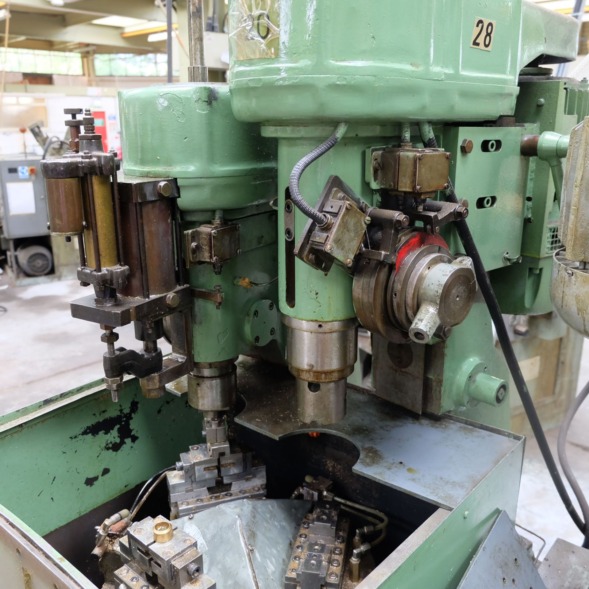 Sturino Model ST-66 Two Spindle Automatic Rotary Transfer Machine. Spindle Taper 30 Int. - Image 3 of 8