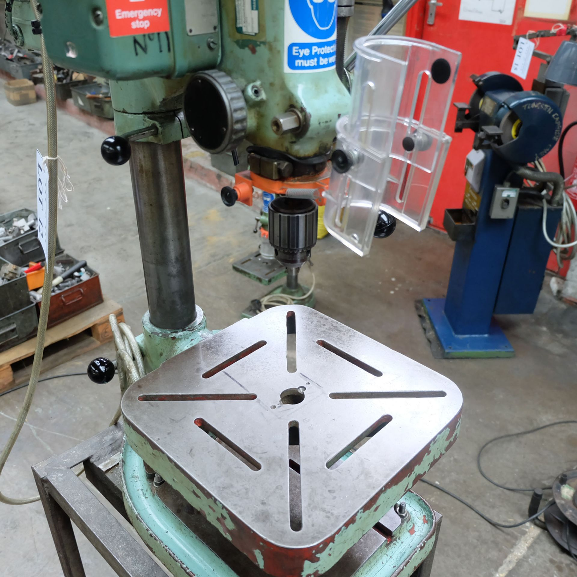 """Elliot Progress No.1 Bench Drill. 1/2"""" Drilling Capacity. Spindle Speeds: 340-2580rpm. - Image 3 of 4"""