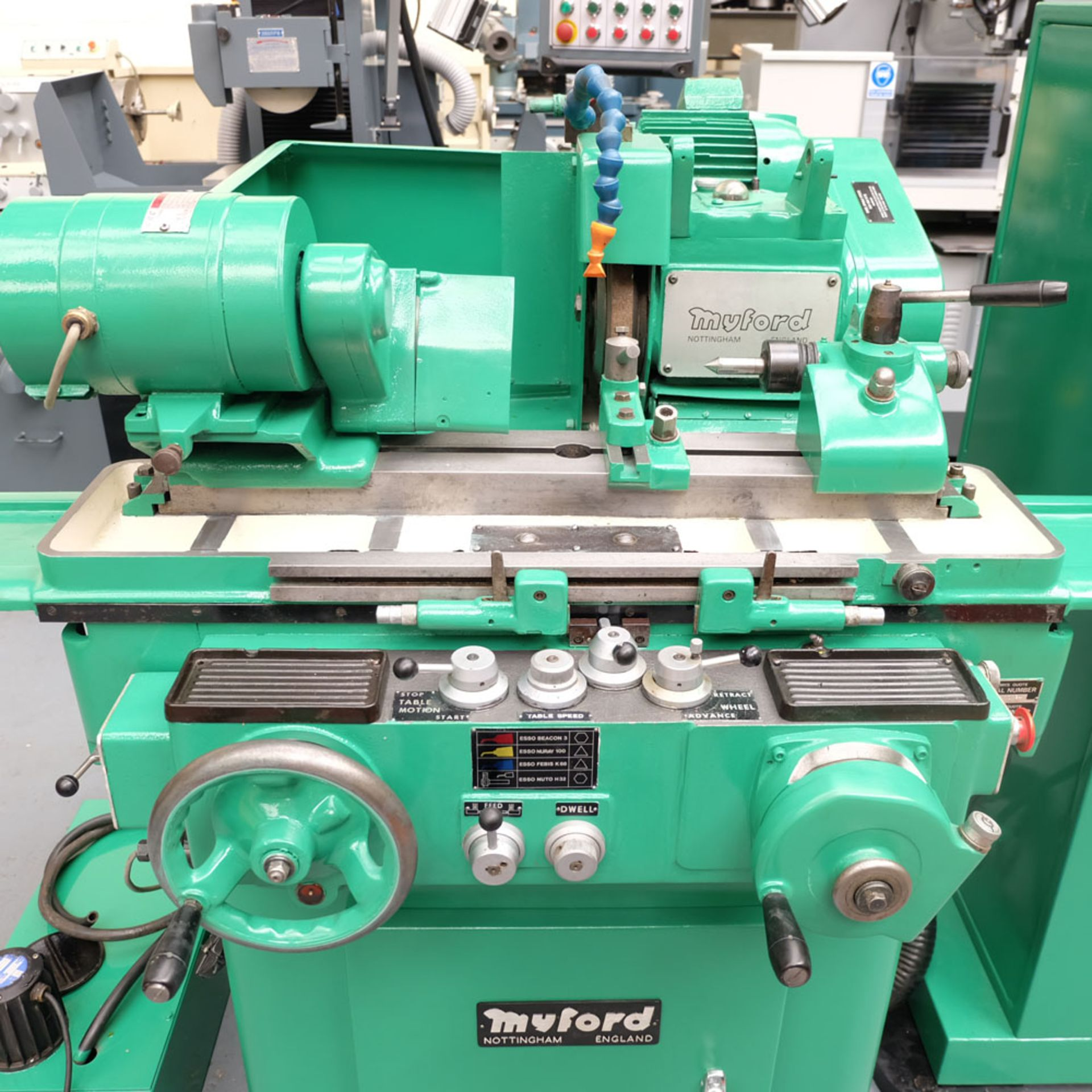 "Myford MG12-HA Hydraulic Cylindrical Grinder. Maximum Grinding Capacity 3"" Diameter. - Image 2 of 13"