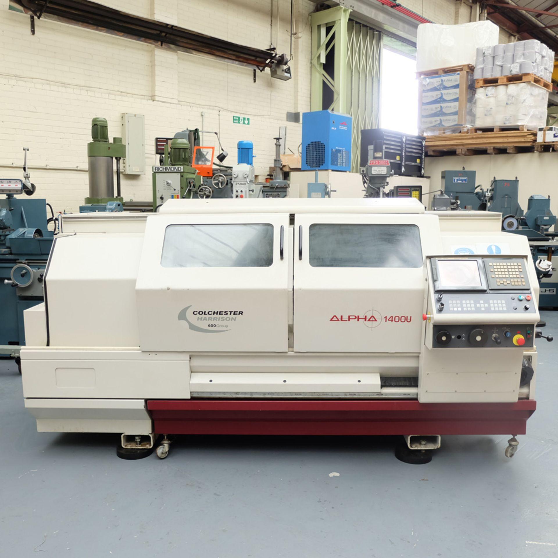 Harrison Alpha 1000 Series Model 1400U CNC Lathe. - Image 2 of 12