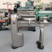 """Union Graduate Pedestal Wood Turning Lathe. Distance Between Centres 30"""". Swing Over Bed 12""""."""