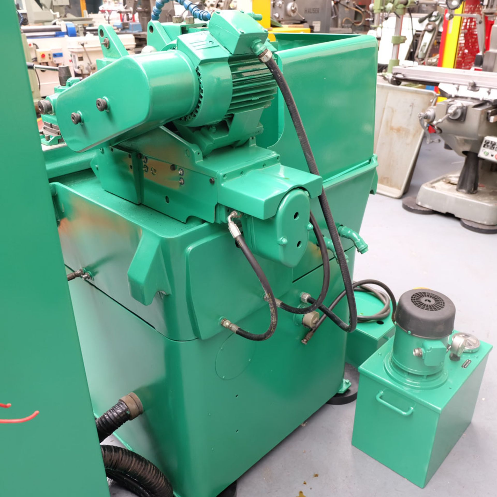 "Myford MG12-HA Hydraulic Cylindrical Grinder. Maximum Grinding Capacity 3"" Diameter. - Image 11 of 13"