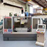 Bridgeport VMC 1000/22 Vertical Milling Machine. Table Size 1150mm x 490mm.