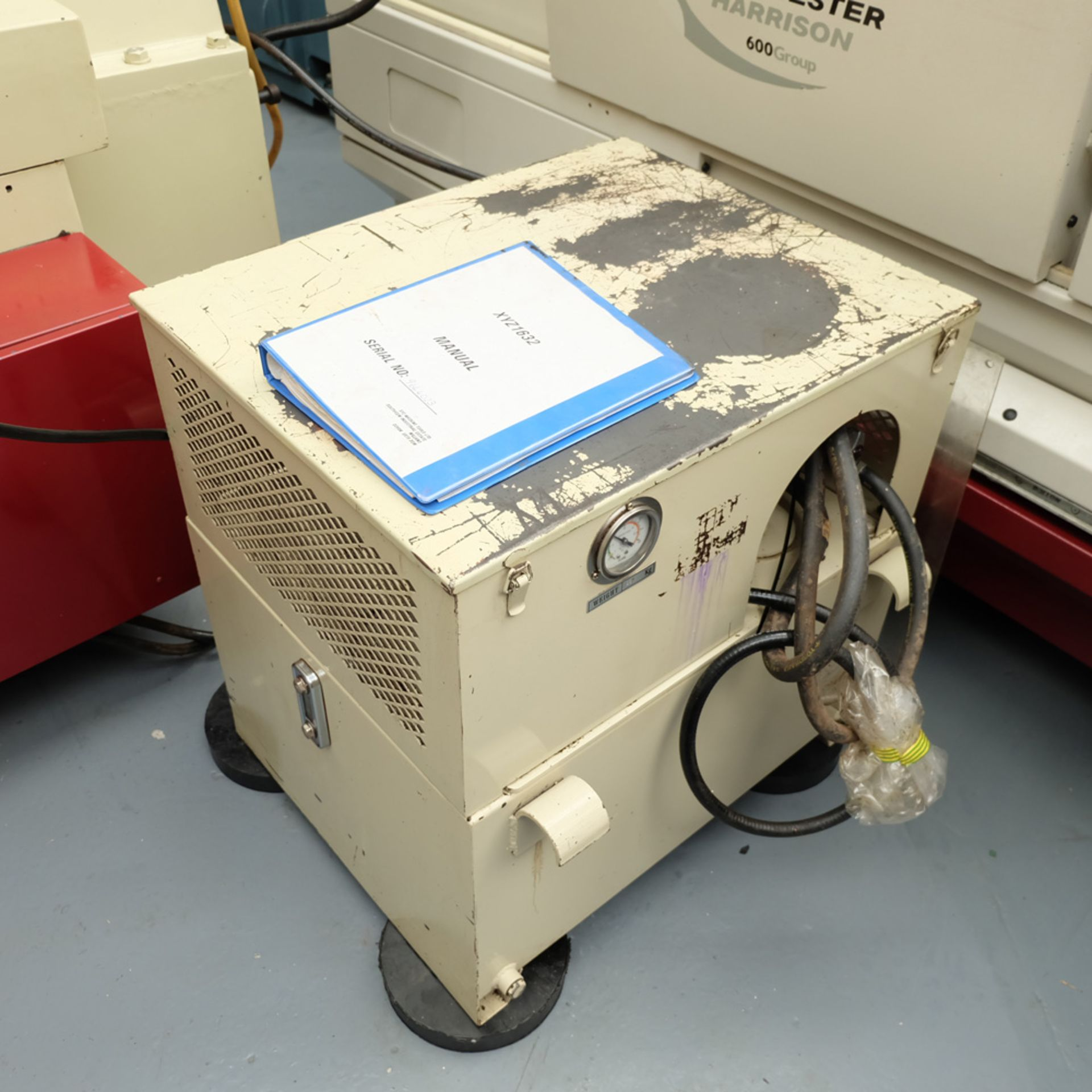 """XYZ Type 1632 Tool Room Surface Grinding Machine. Capacity 32"""" x 16"""". 32"""" x 16"""" Magnetic Chuck. - Image 16 of 17"""