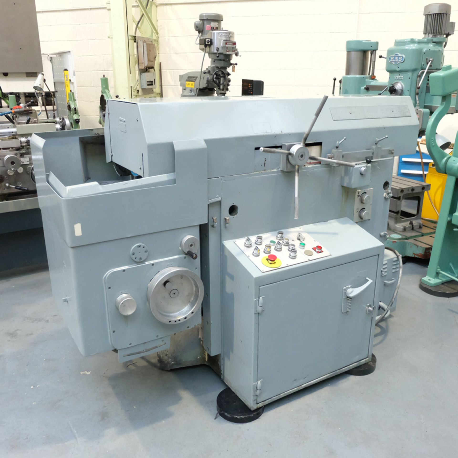 Snow Model RT 400 Ring Grinder. Table Size 400mm Diameter.Max Height Under Wheel 200mm. - Image 2 of 10