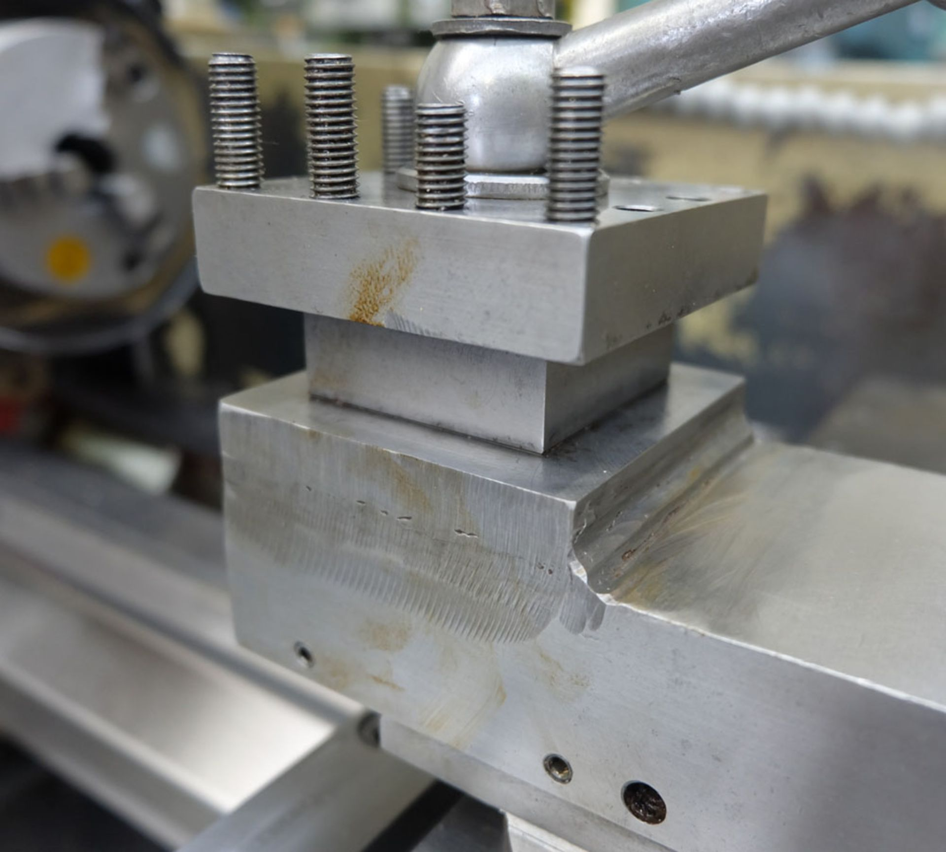 """Harrison M250 Tool Room Centre Lathe. Swing Over Bed 13"""". Distance Between Centres 30"""". - Image 13 of 14"""