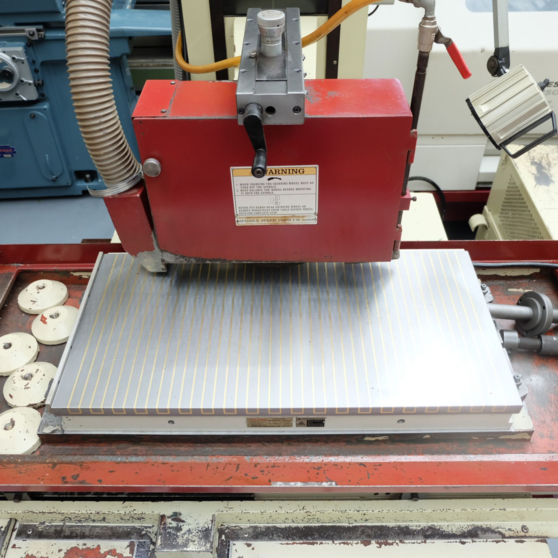 """XYZ Type 1632 Tool Room Surface Grinding Machine. Capacity 32"""" x 16"""". 32"""" x 16"""" Magnetic Chuck. - Image 3 of 17"""