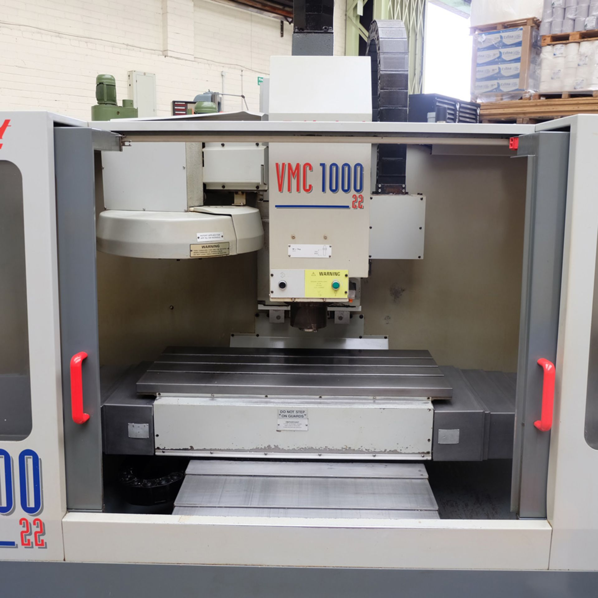 Bridgeport VMC 1000/22 Vertical Milling Machine. Table Size 1150mm x 490mm. - Image 3 of 12