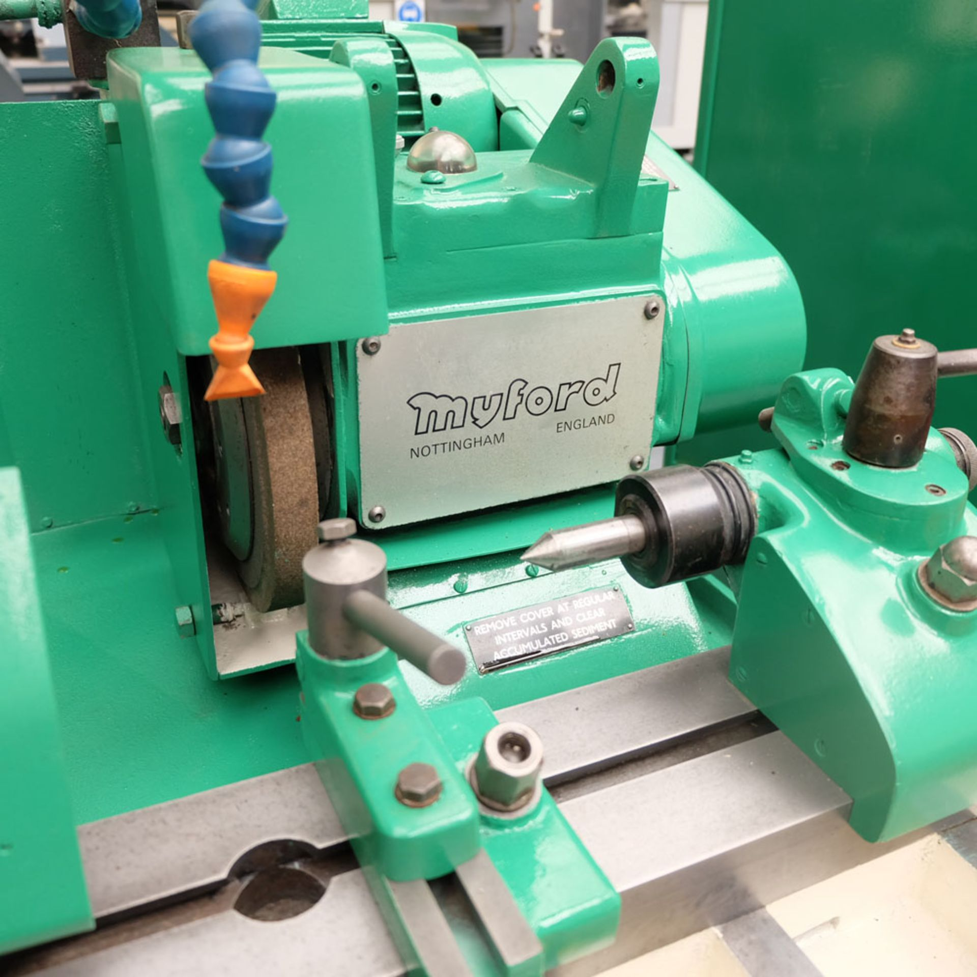 "Myford MG12-HA Hydraulic Cylindrical Grinder. Maximum Grinding Capacity 3"" Diameter. - Image 4 of 13"