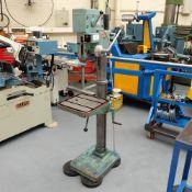 Berema Gima Type P12 Gear Driven Pillar Drill. Spindle Taper No.3 Morse.