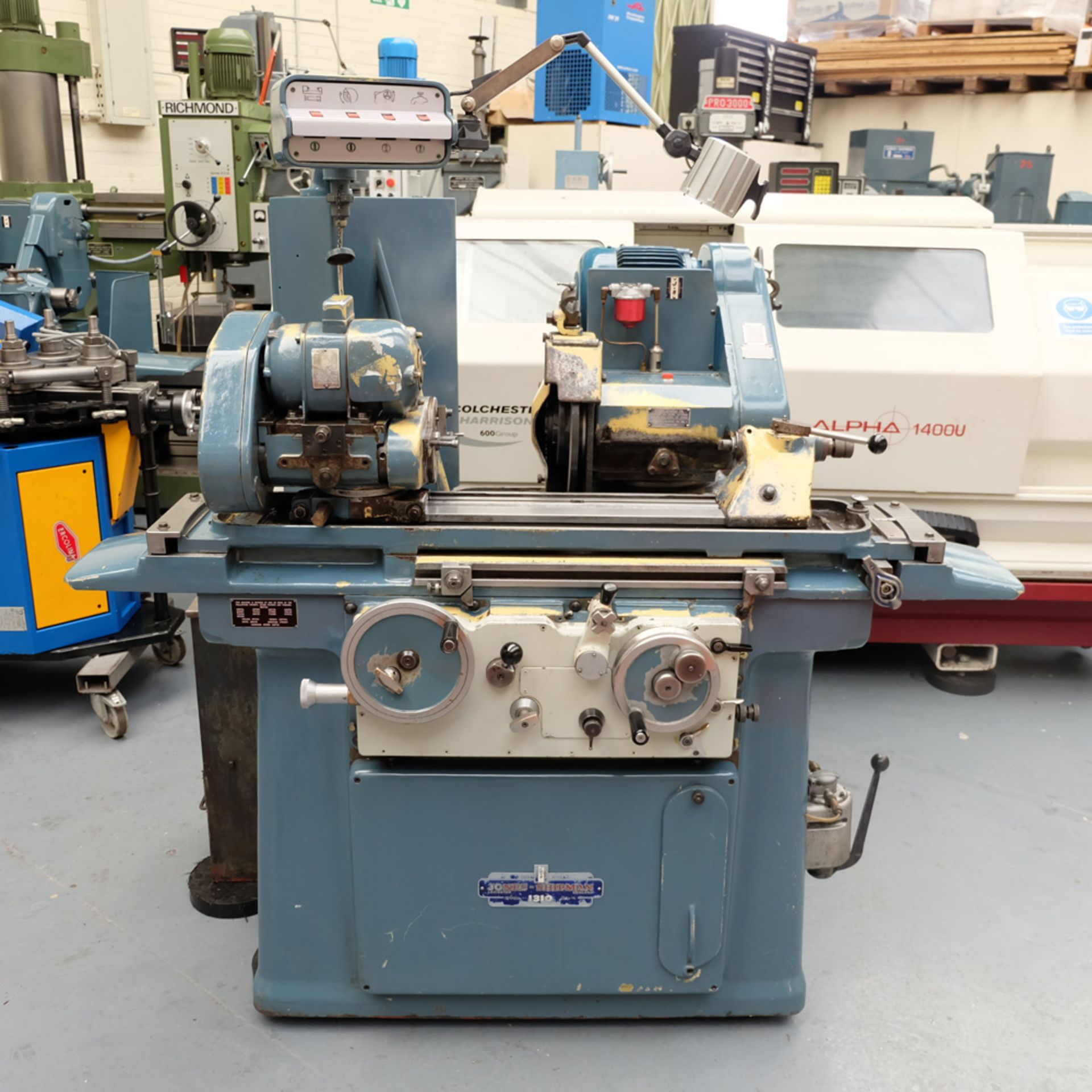 Jones & Shipman Type 1310 Cylindrical Grinder