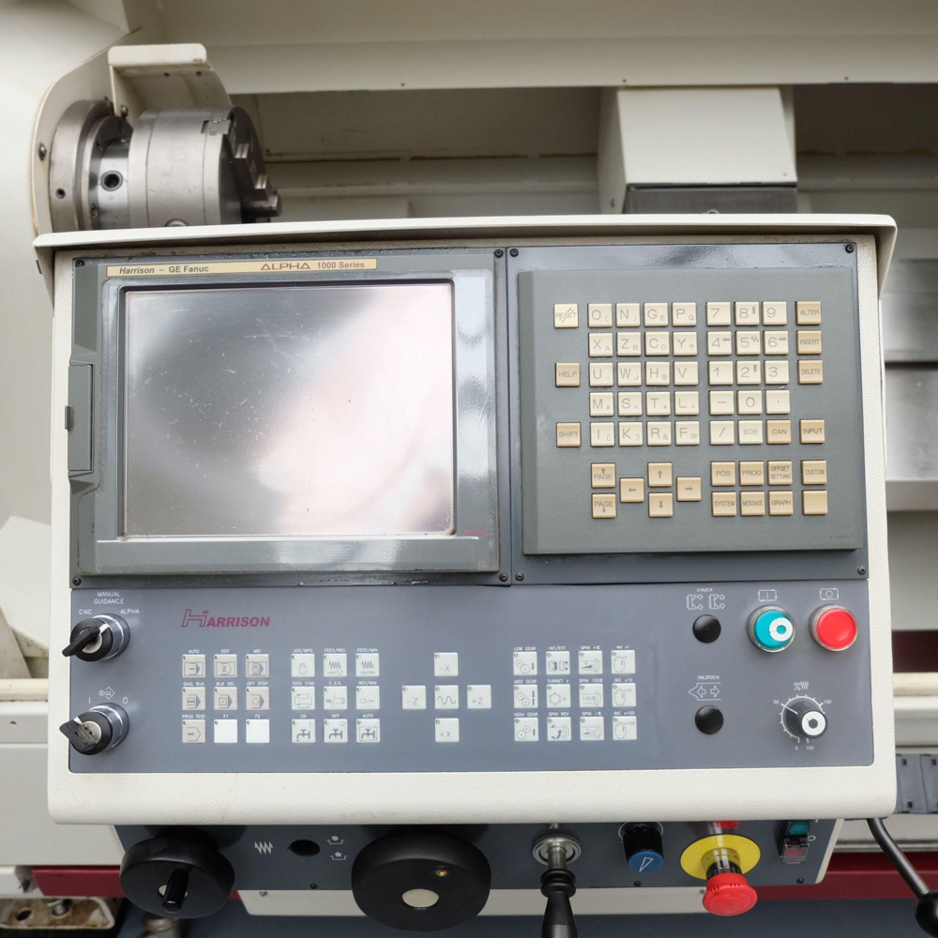 Harrison Alpha 1000 Series Model 1400U CNC Lathe. - Image 6 of 12