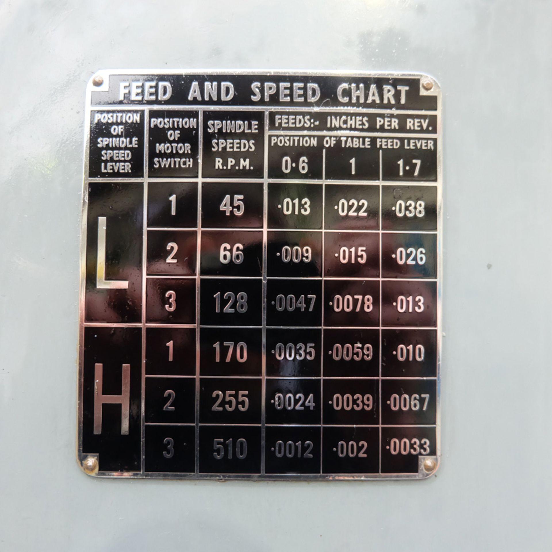 "Kearns S Type Facing Chuck Model Horizontal Boring Machine. Facing Chuck Capacity 8"". - Image 10 of 18"
