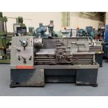 """Colchester Mastiff 1400 Gap Bed Centre Lathe. 21"""" Swing Over Bed. 40"""" Distance Between Centres."""