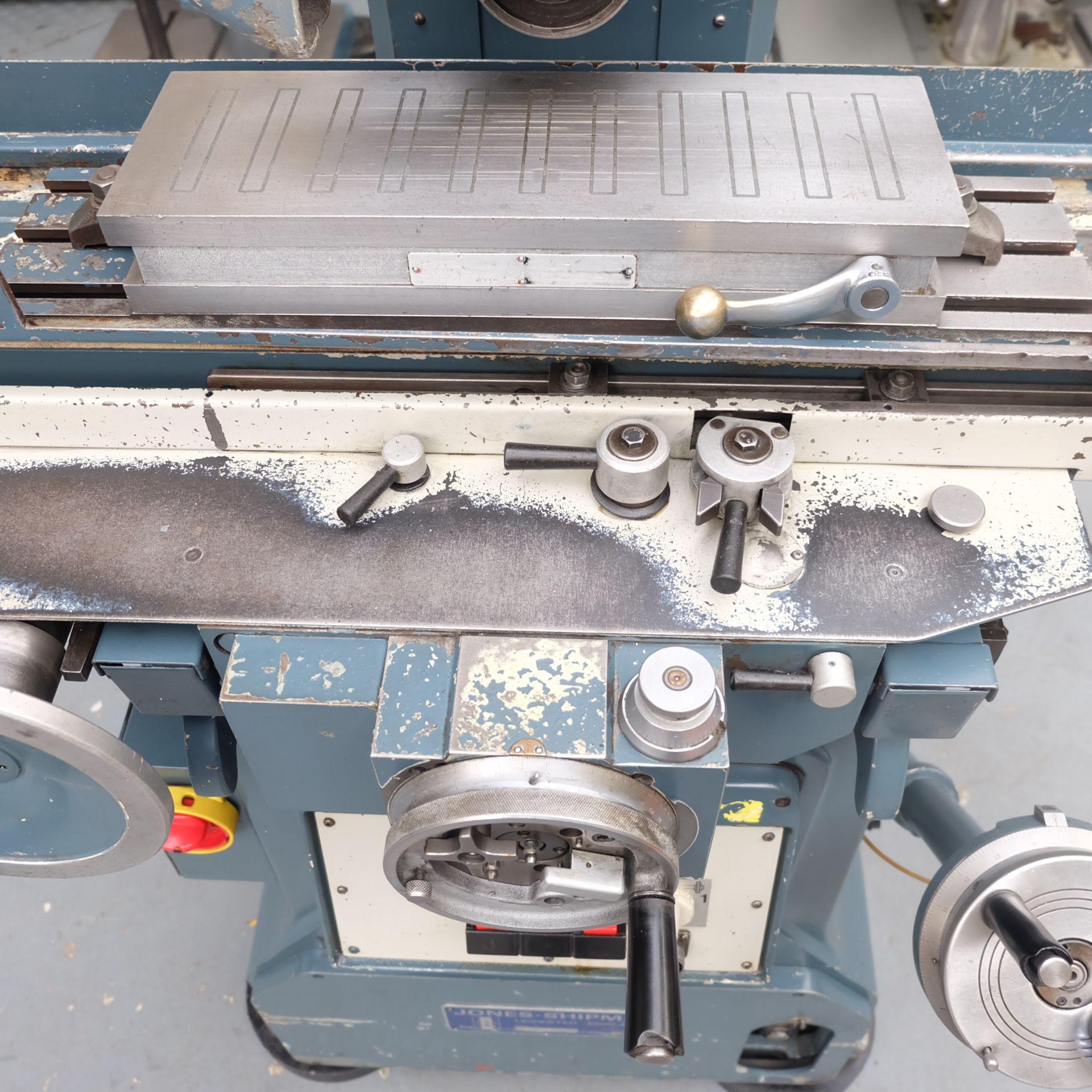 "Jones & Shipman 540 Surface Grinder. Capacity 18"" x 6"". Imperial Dials. - Image 5 of 8"