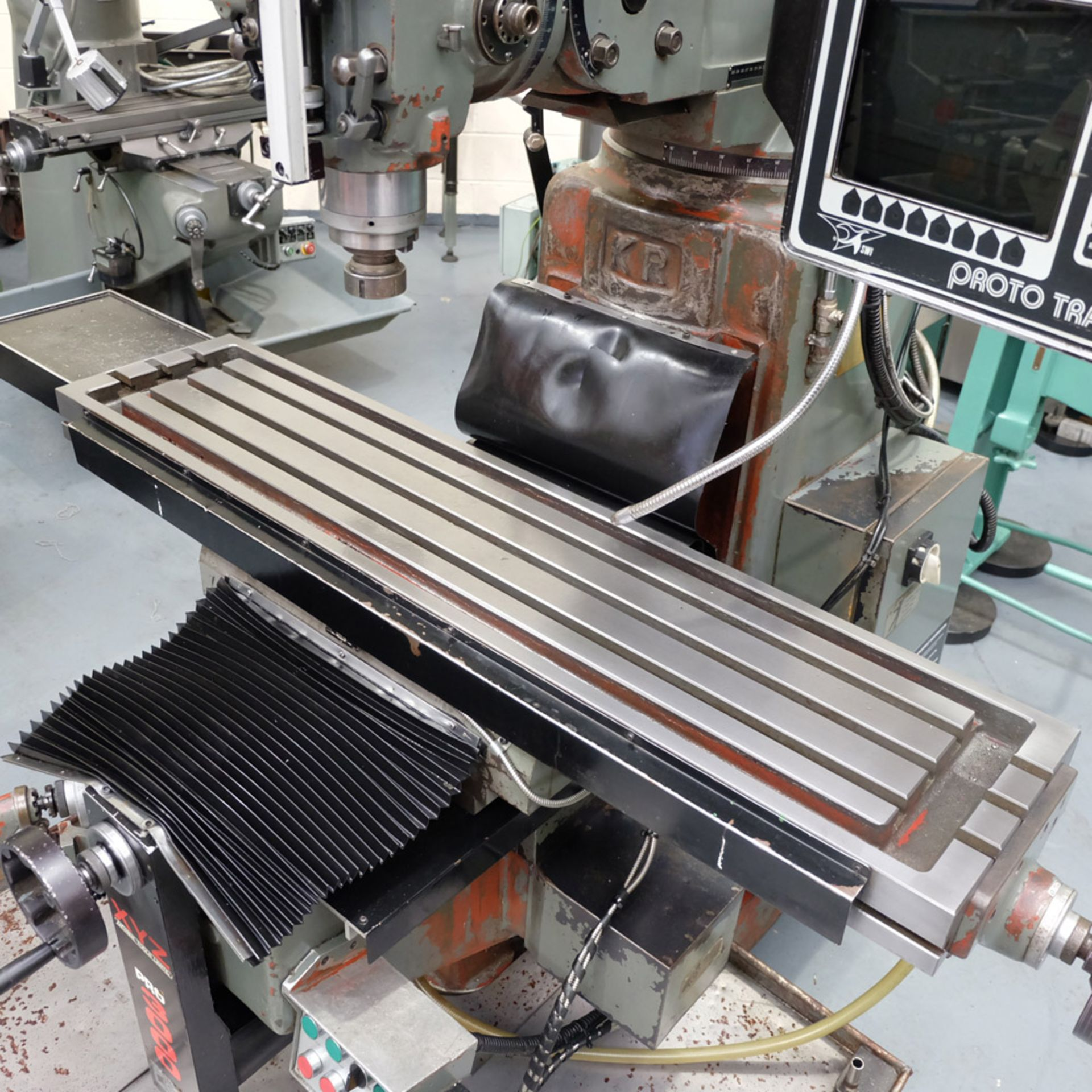 XYZ PRO 3000 Two Axis CNC Milling Machine.ProtoTrak MX2 Two Axis Programmable Control. - Image 6 of 9
