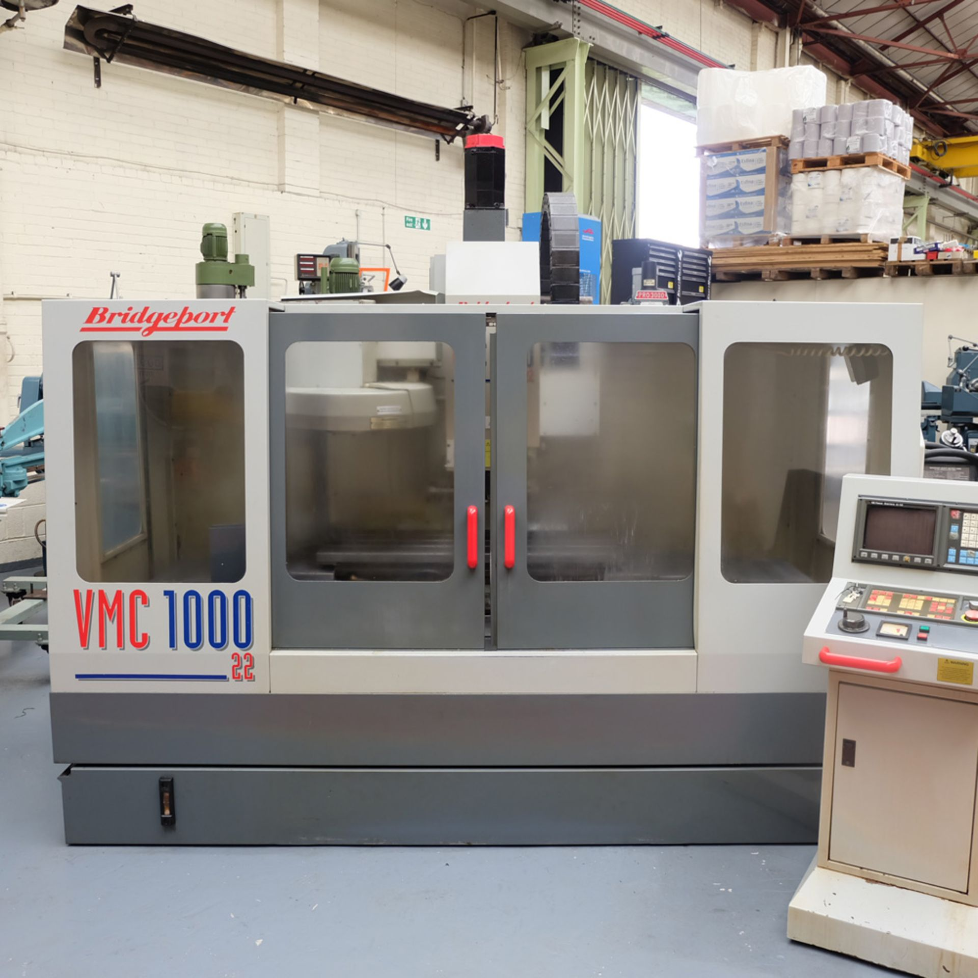 Bridgeport VMC 1000/22 Vertical Milling Machine. Table Size 1150mm x 490mm. - Image 2 of 12