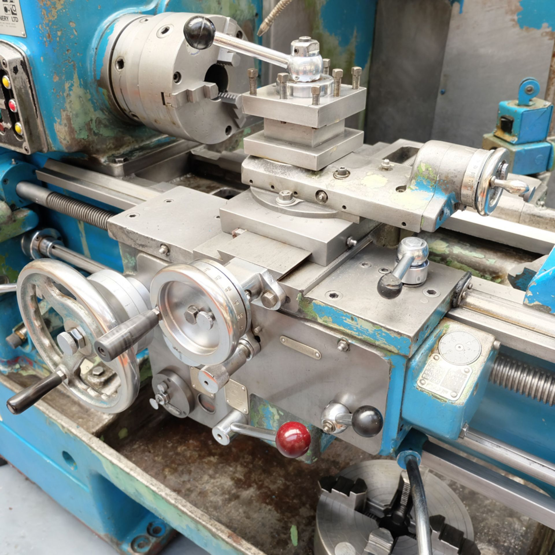 Dean Smith & Grace Type 13-1 Tool Room Centre Lathe. - Image 6 of 13