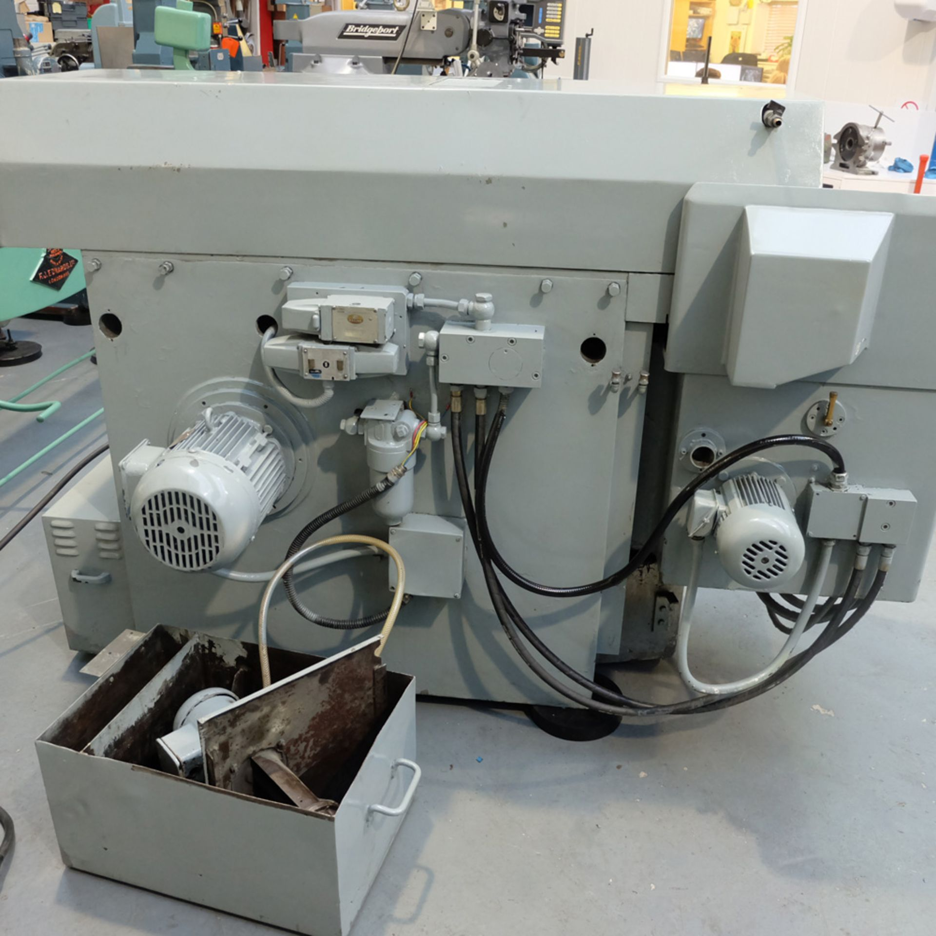Snow Model RT 400 Ring Grinder. Table Size 400mm Diameter.Max Height Under Wheel 200mm. - Image 9 of 10
