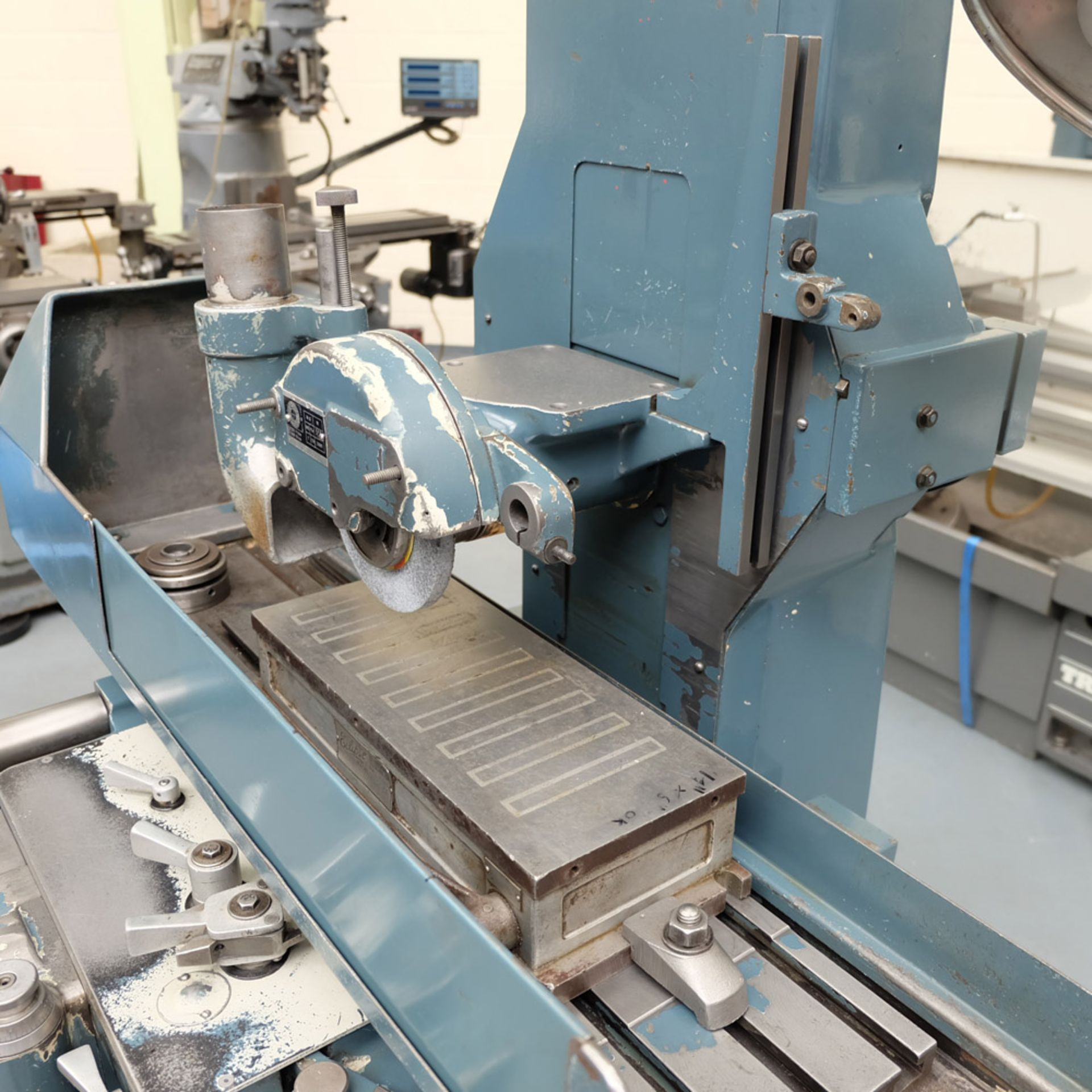 "Jones & Shipman Type 540P Tool Room Surface Grinder. Capacity 18"" x 6"". Imperial Dials. - Image 3 of 7"