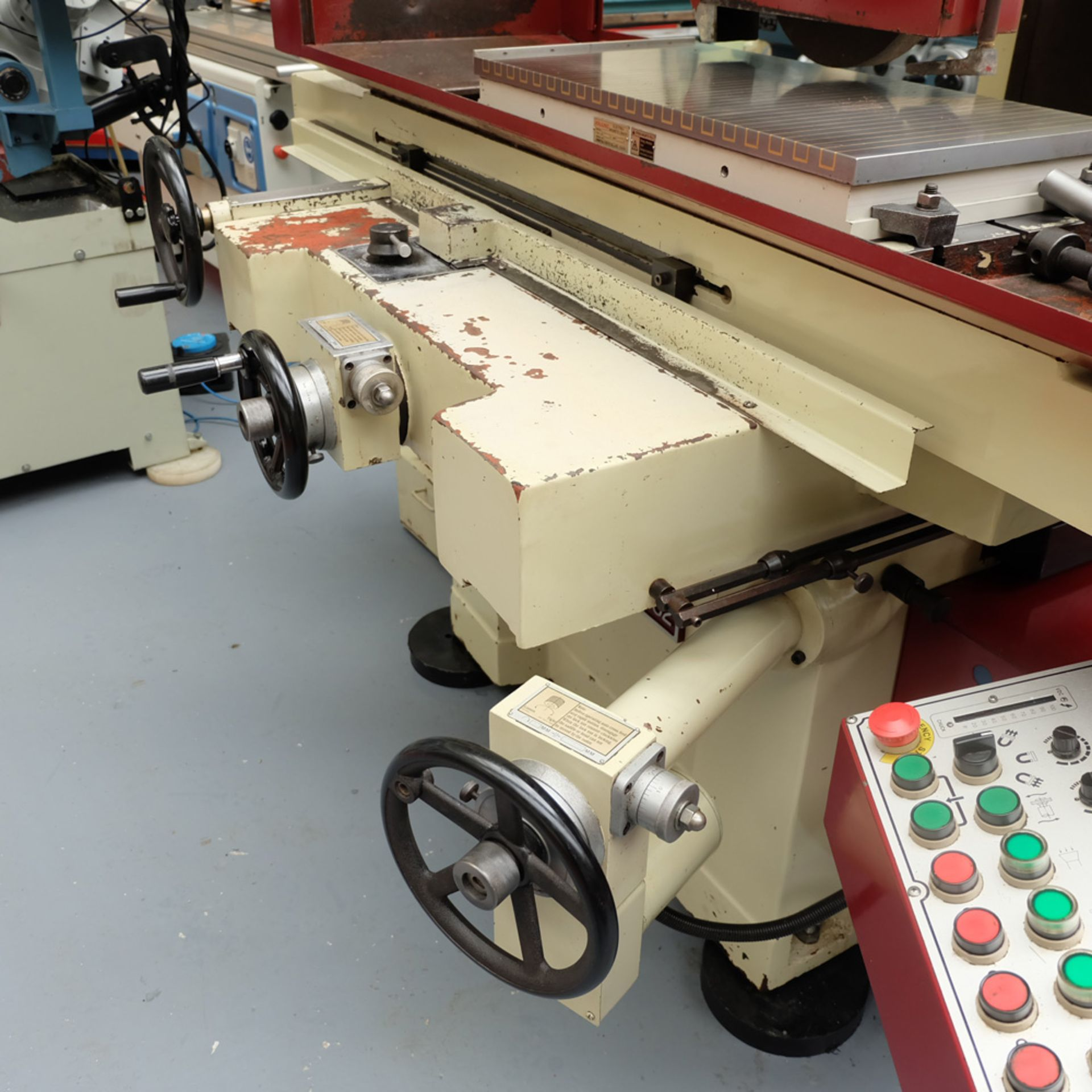 """XYZ Type 1632 Tool Room Surface Grinding Machine. Capacity 32"""" x 16"""". 32"""" x 16"""" Magnetic Chuck. - Image 4 of 17"""
