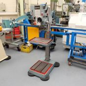 Meddings Type S32 ME Geared Head Pedestal Drilling Machine. Table 500mm x 350mm.