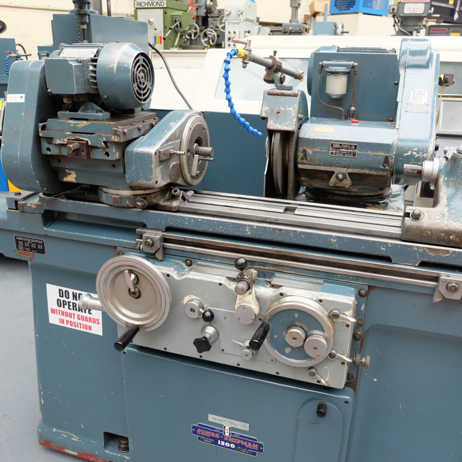 Jones & Shipman Type 1300 Cylindrical Grinder - Image 2 of 15