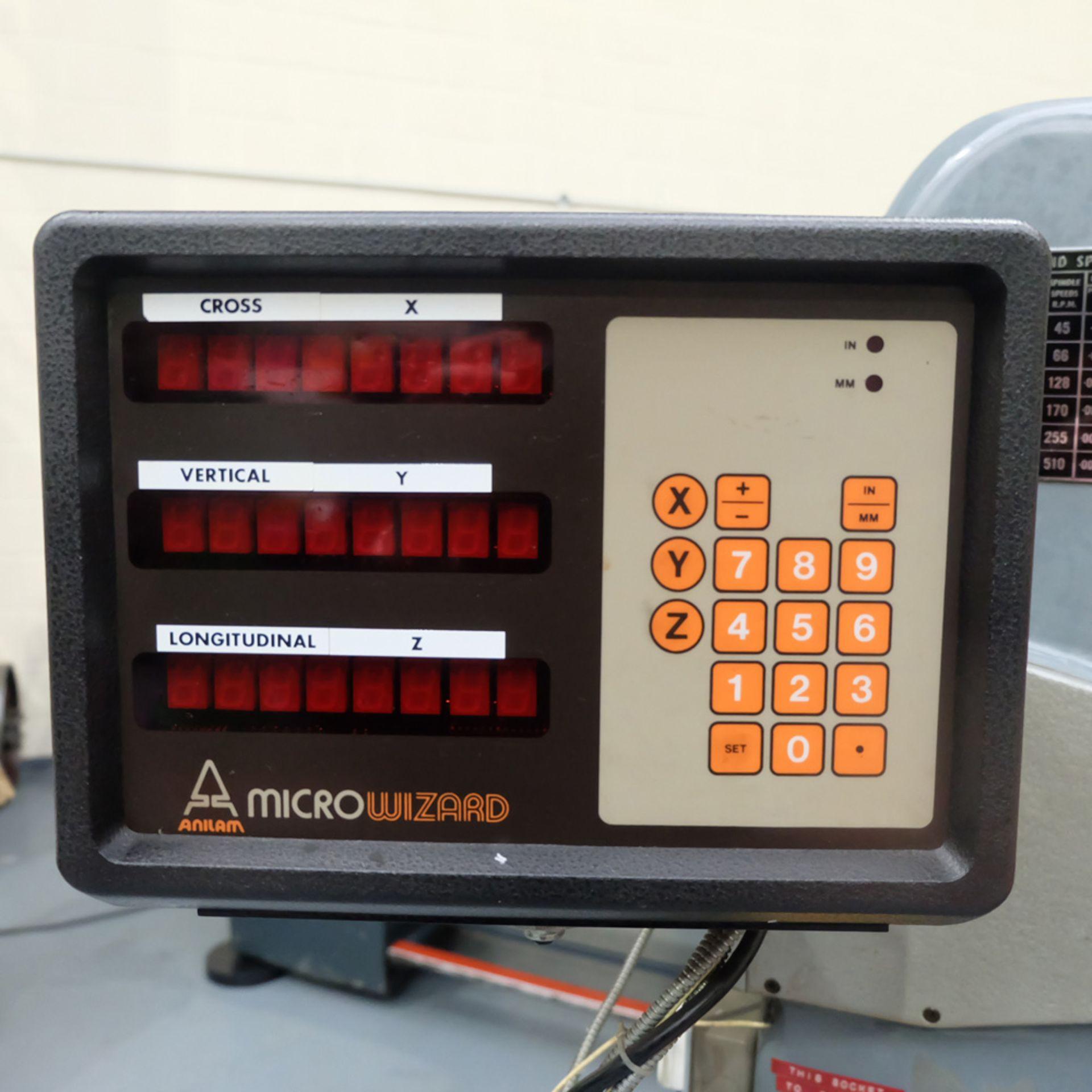 "Kearns S Type Facing Chuck Model Horizontal Boring Machine. Facing Chuck Capacity 8"". - Image 13 of 18"