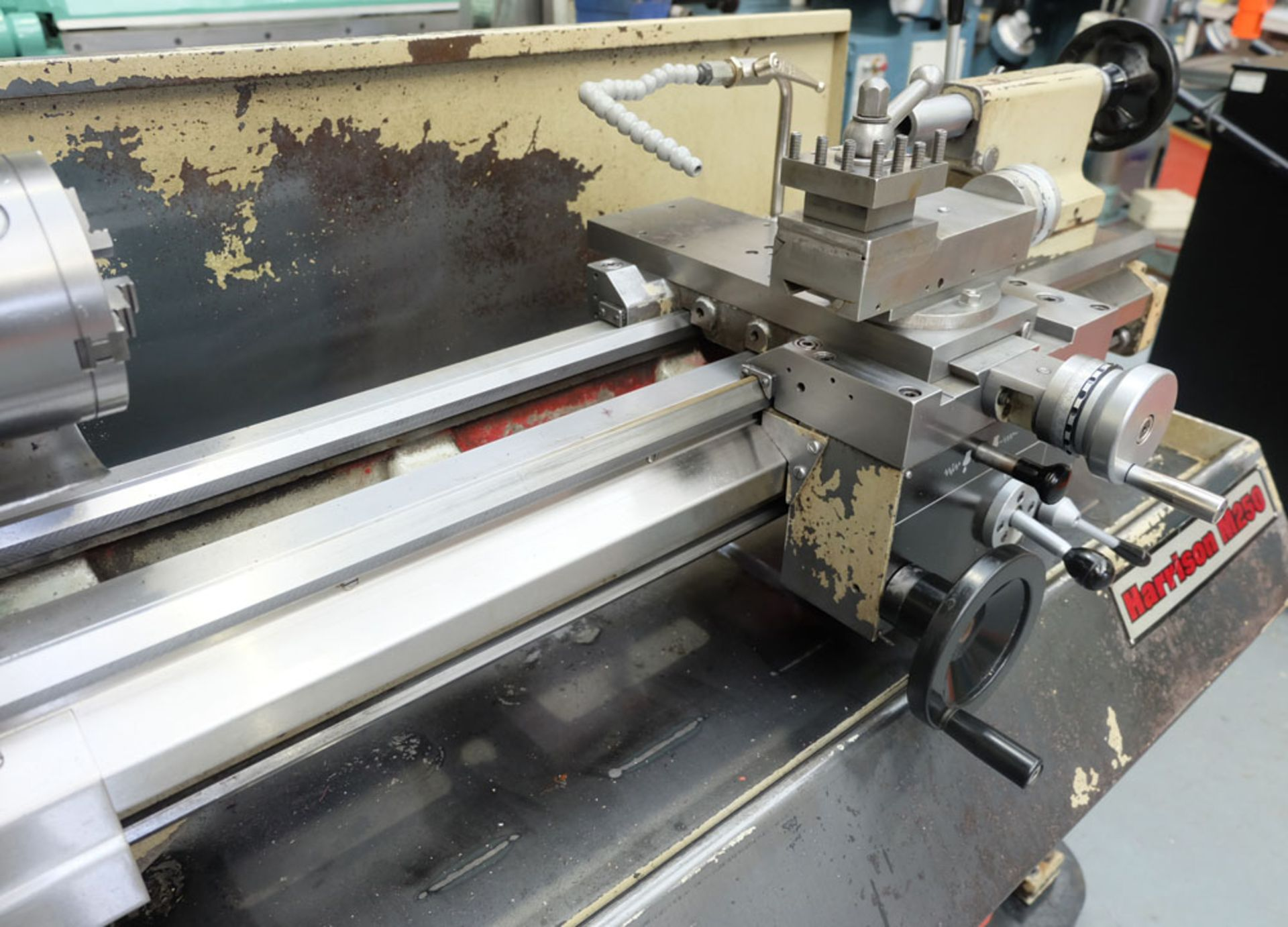 """Harrison M250 Tool Room Centre Lathe. Swing Over Bed 13"""". Distance Between Centres 30"""". - Image 4 of 14"""