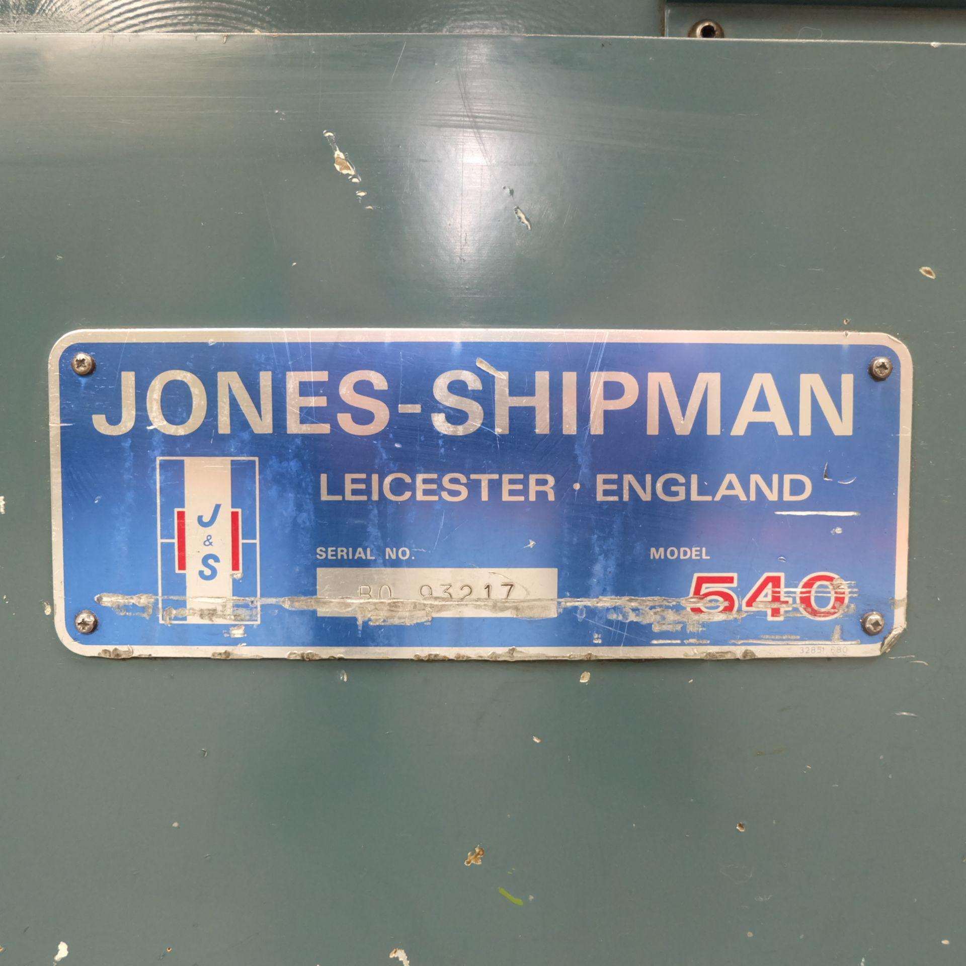 "Jones & Shipman 540 Surface Grinder. Capacity 18"" x 6"". Imperial Dials. - Image 8 of 8"