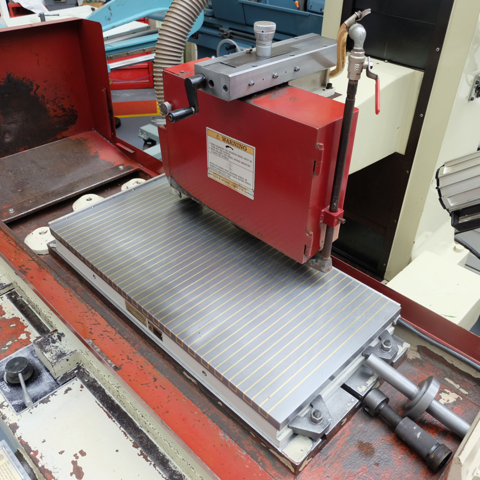 """XYZ Type 1632 Tool Room Surface Grinding Machine. Capacity 32"""" x 16"""". 32"""" x 16"""" Magnetic Chuck. - Image 2 of 17"""