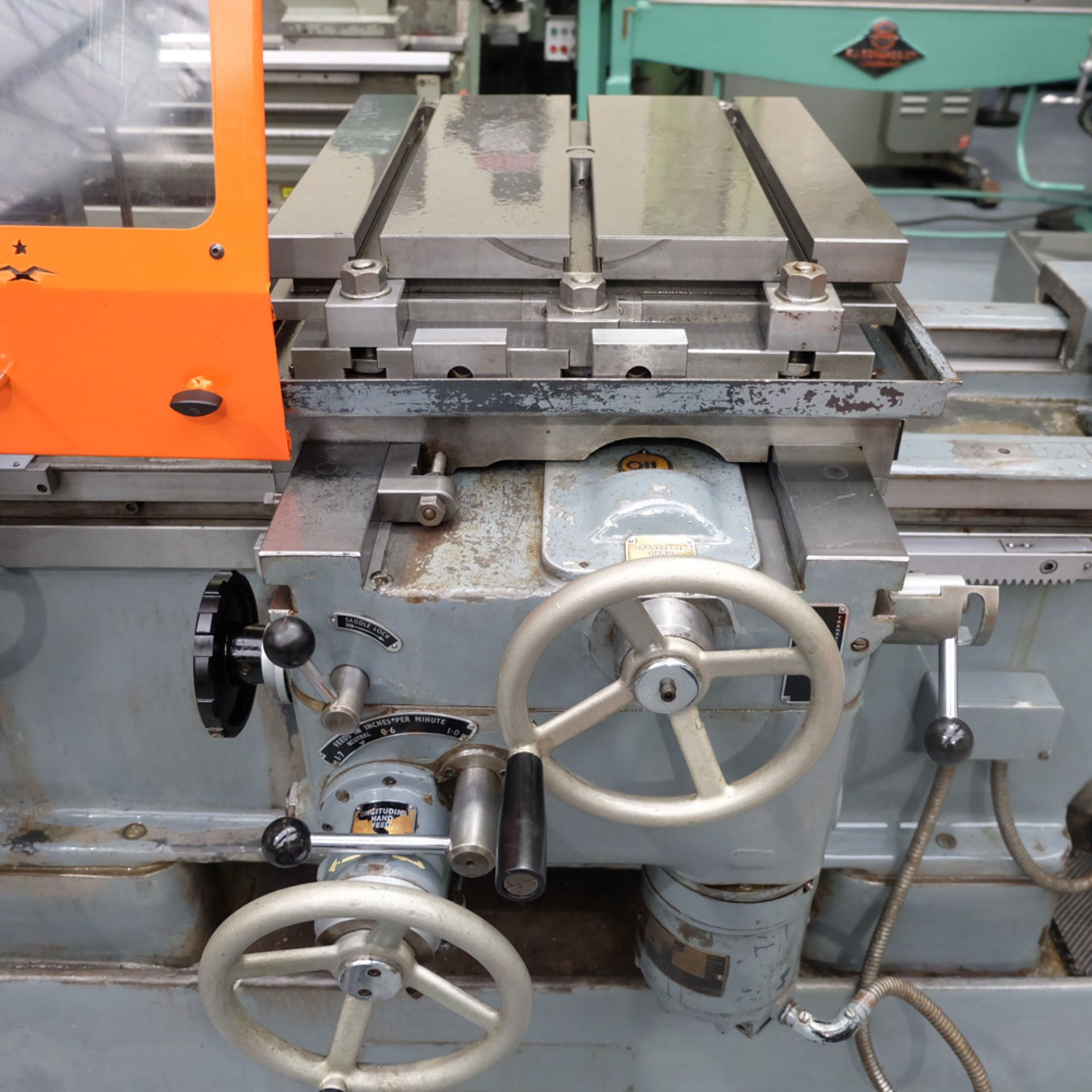 "Kearns S Type Facing Chuck Model Horizontal Boring Machine. Facing Chuck Capacity 8"". - Image 5 of 18"