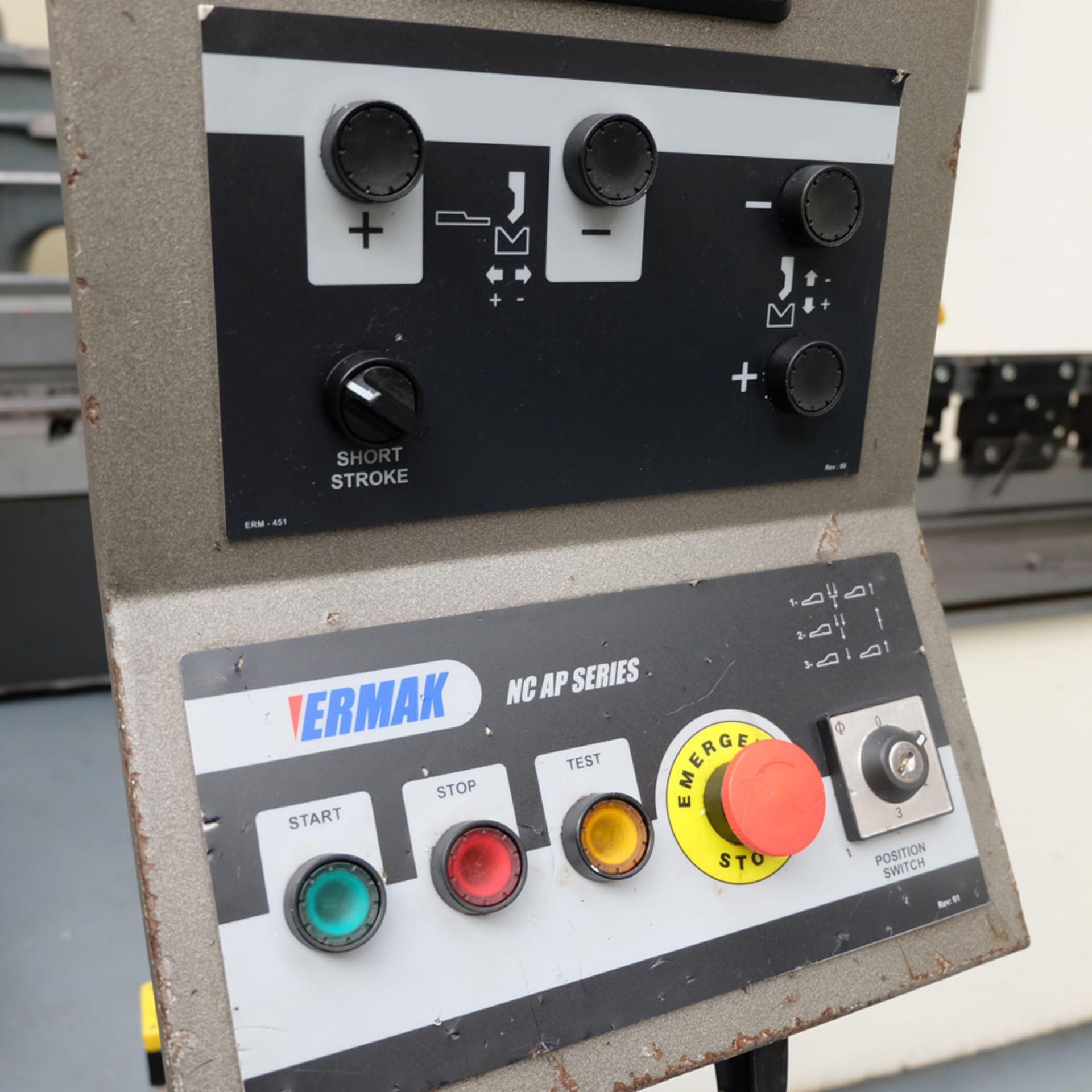 Ermak AP3120 Hydraulic Downstroke Press Brake. Capacity 3100mm x 6mm. Bending Force 120 Ton. - Image 4 of 14