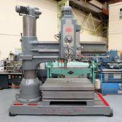 Kitchen & Walker Type E3 Radial Arm Drilling Machine. Drilling Radius 6'.