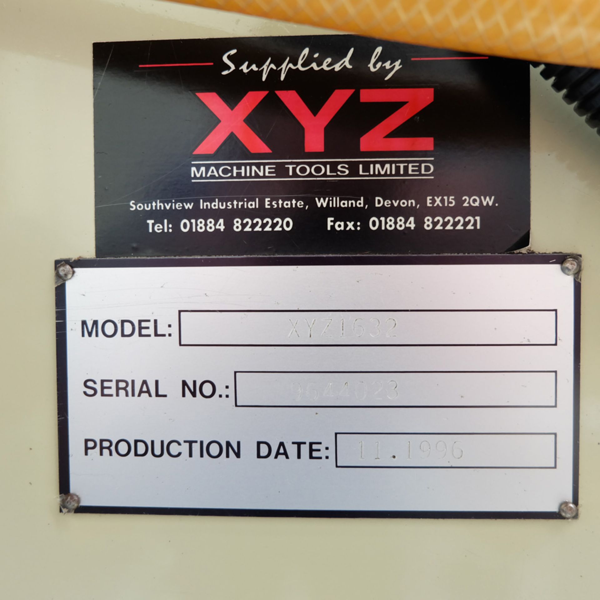 """XYZ Type 1632 Tool Room Surface Grinding Machine. Capacity 32"""" x 16"""". 32"""" x 16"""" Magnetic Chuck. - Image 13 of 17"""