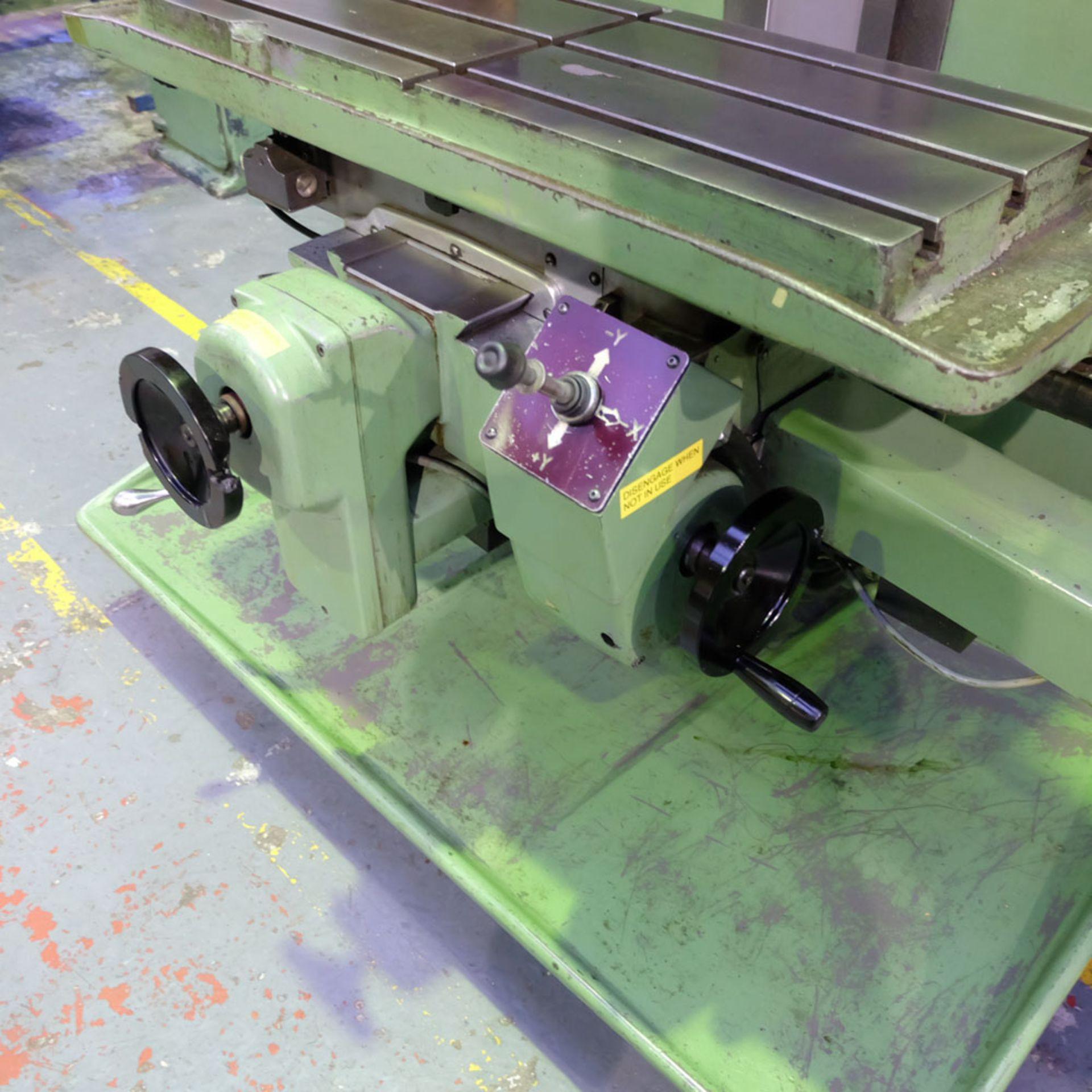 Bridgeport Series 1 MDI. CNC Mill with Heidenhain TNC131 3 Axis Control. - Image 7 of 14
