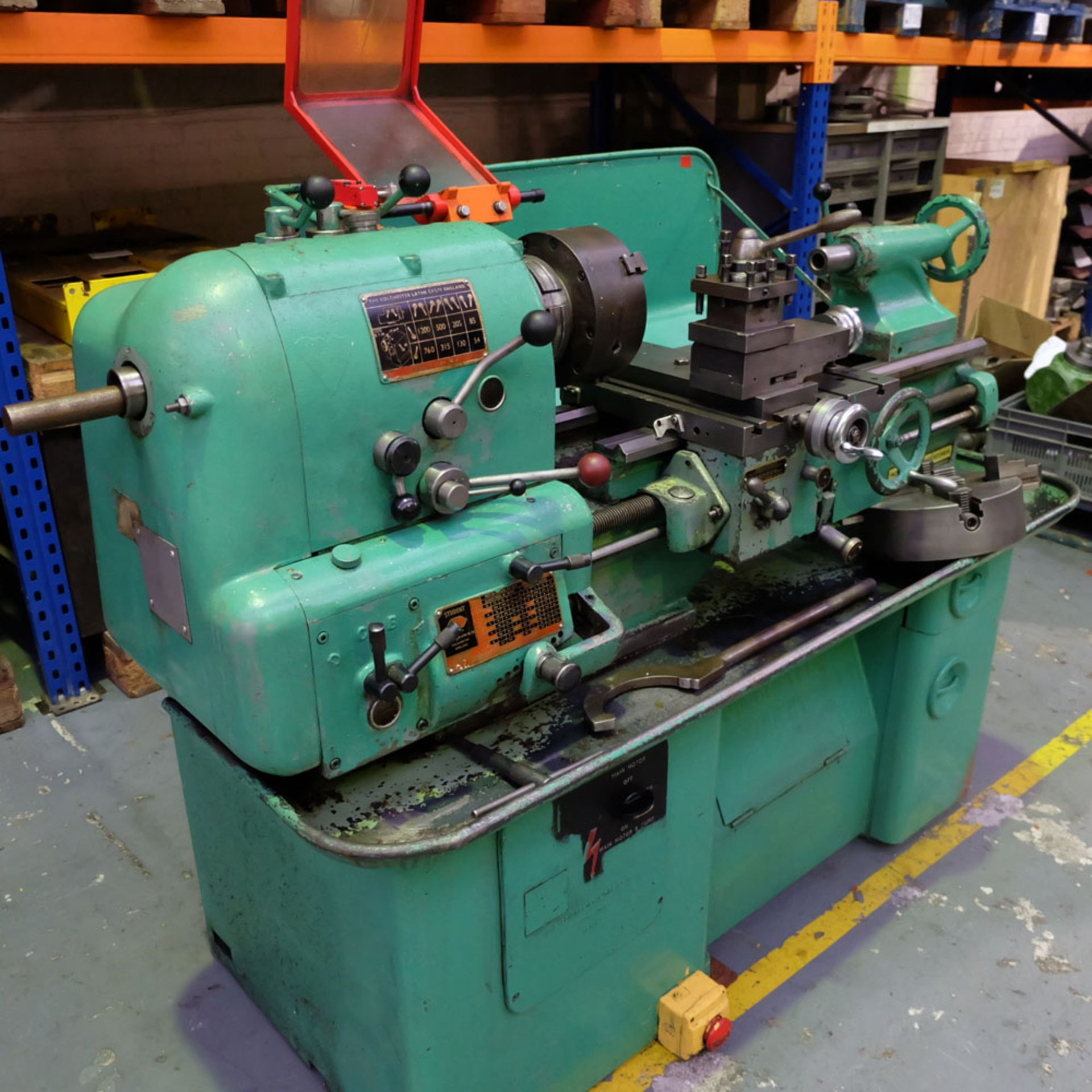 Colchester Student Roundhead Centre Lathe - Image 2 of 8