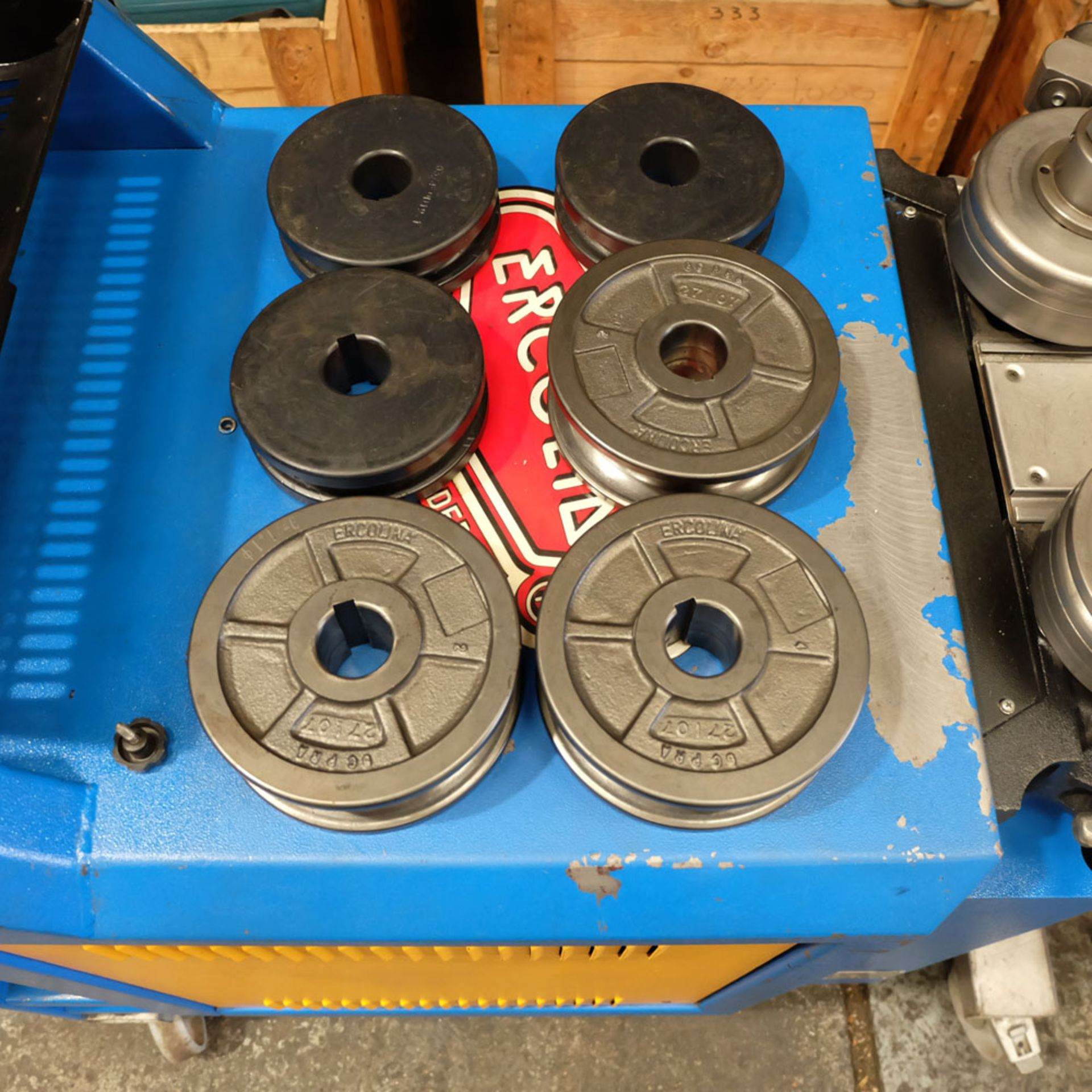 Ercolina CE40MR3 - Ring rollers. Horizontal/Vertical. Roll Shaft Diameter 40mm. - Image 12 of 14