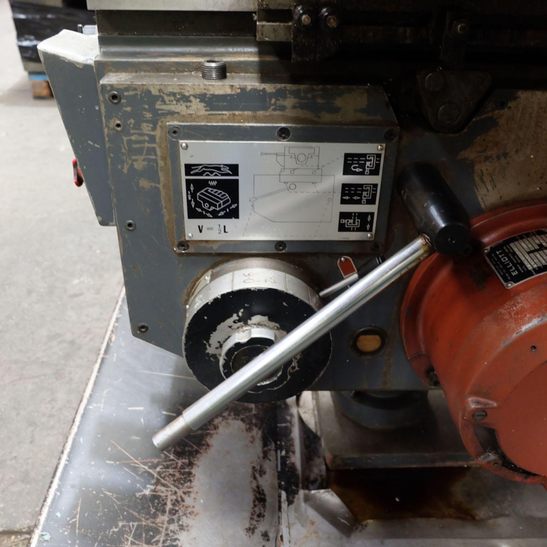 Elliott Horizontal Milling Machine. - Image 7 of 12